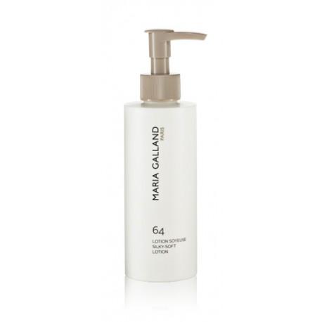 LOTION SOYEUSE 64 Lotion hydratante pour le visage à la texture gel et au parfum tendre